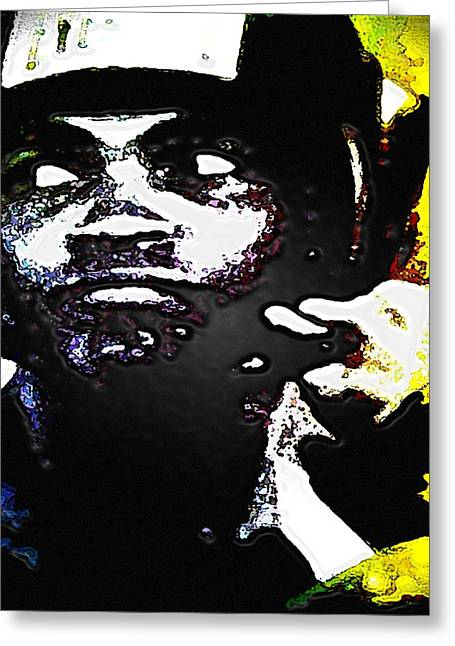 Chastity Greeting Cards - Muhammad Ali Greeting Card by CD Kirven