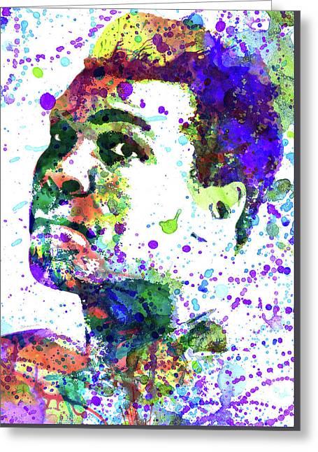 Muhammad Ali Greeting Card by Dante Blacksmith