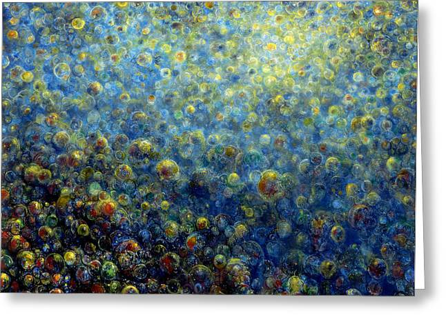 Limitless Greeting Cards - Multiverse Greeting Card by De Es Schwertberger