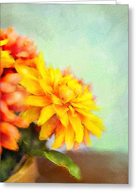 Paint Photograph Greeting Cards - Mum Greeting Card by Mary Timman