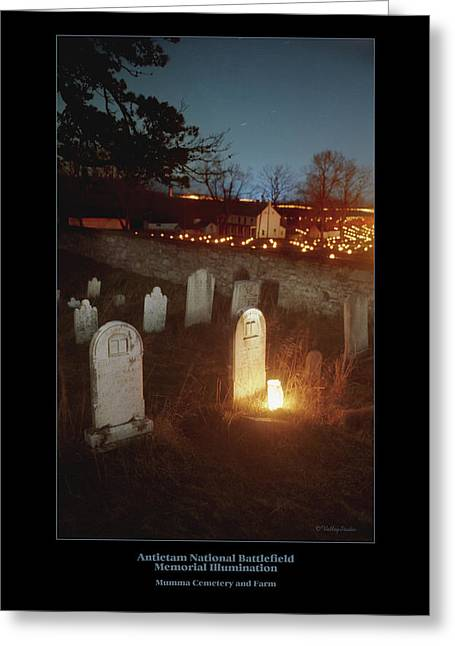 Luminaries Greeting Cards - Mumma Cemetery and Farm 96 Greeting Card by Judi Quelland