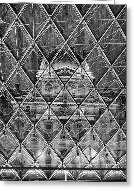 21st Greeting Cards - Musee du Louvre 2 Greeting Card by Pablo Lopez