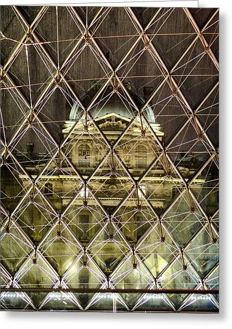 21st Greeting Cards - Musee du Louvre Greeting Card by Pablo Lopez