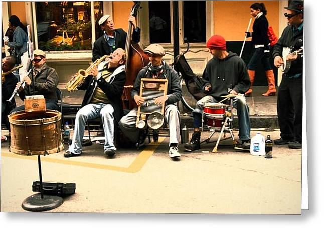 Eye4life Photography Greeting Cards - Music Greeting Card by Alicia Morales