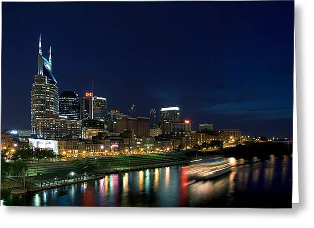 Music City Queen At Nashville Greeting Card by Mark Currier