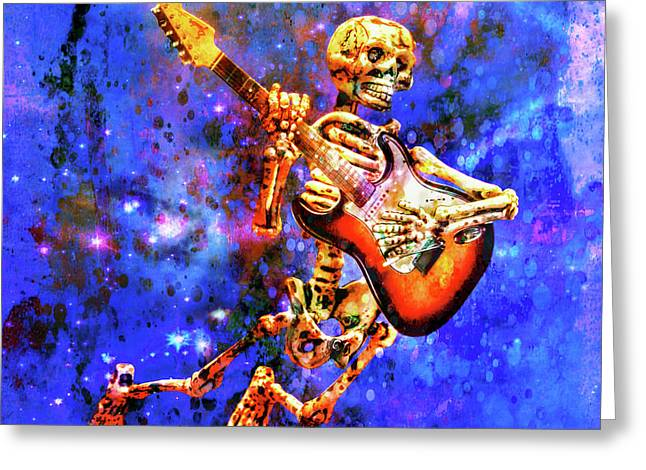 Music In The Air Greeting Card by Jeff Gettis