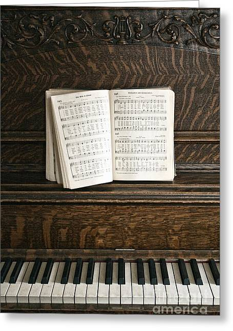 Music Greeting Card by Margie Hurwich