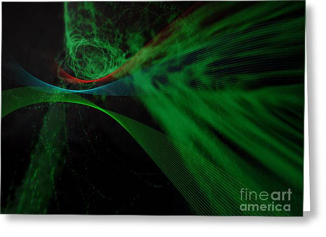Musical Interlude 9. Greeting Card by Paul Davenport
