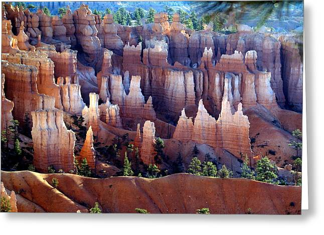 Marty Koch Greeting Cards - Muted Bryce Greeting Card by Marty Koch