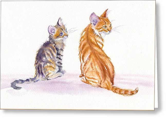 Pairs Greeting Cards - My Big Sister Greeting Card by Debra Hall