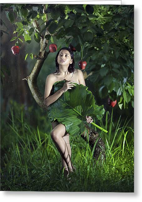 Montage Greeting Cards - My Fantasy Greeting Card by Andre Arment
