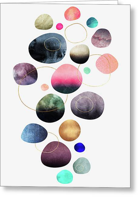My Favorite Pebbles Greeting Card by Elisabeth Fredriksson