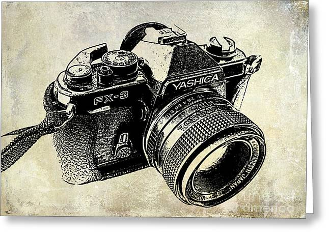 35mm Photographs Greeting Cards - My First Camera Greeting Card by Jon Neidert