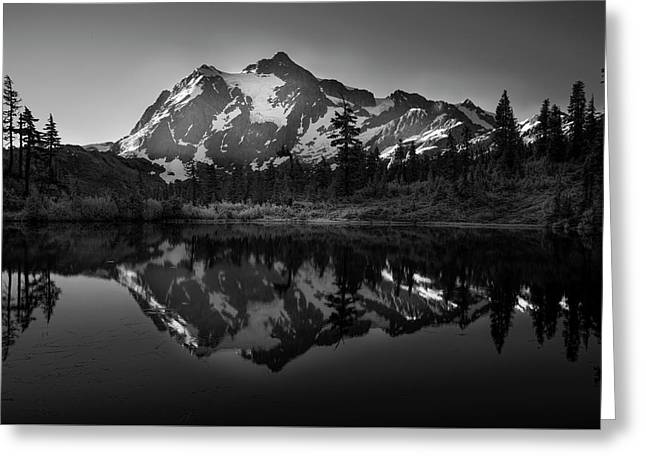 My First Morning Greeting Card by Jon Glaser