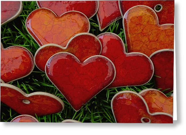 Love Letter Greeting Cards - My funny valentine Greeting Card by Marcus Hammerschmitt
