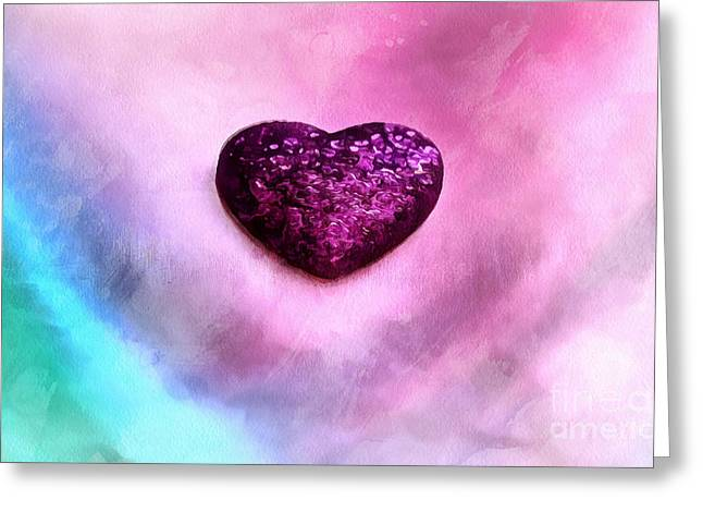 My Heart Belongs To You Greeting Card by Krissy Katsimbras