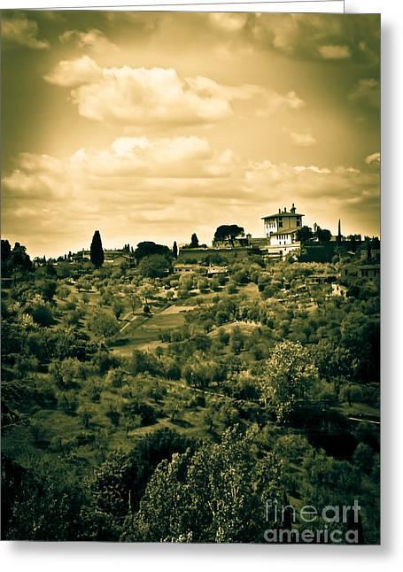 My Italian Dream Greeting Card by Liesl Marelli