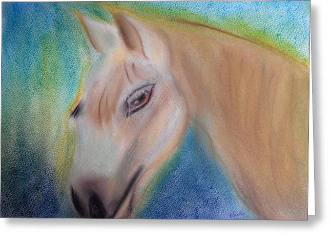 Pony Pastels Greeting Cards - My Little Pony Greeting Card by Donna Blackhall
