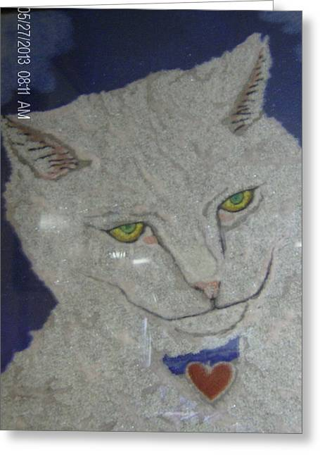 Owner Greeting Cards - My Loveing Cat. Greeting Card by Russell Kromminga