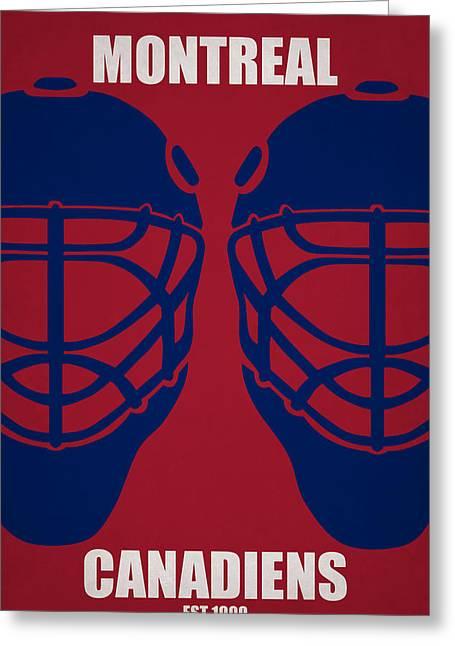 My Montreal Canadiens Greeting Card by Joe Hamilton