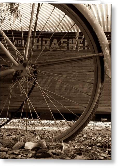 Rural Florida Greeting Cards - My old bike Greeting Card by David Lee Thompson