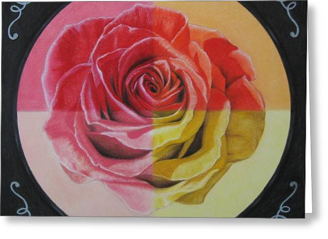 Bright Pastels Greeting Cards - My Rose Greeting Card by Lynet McDonald