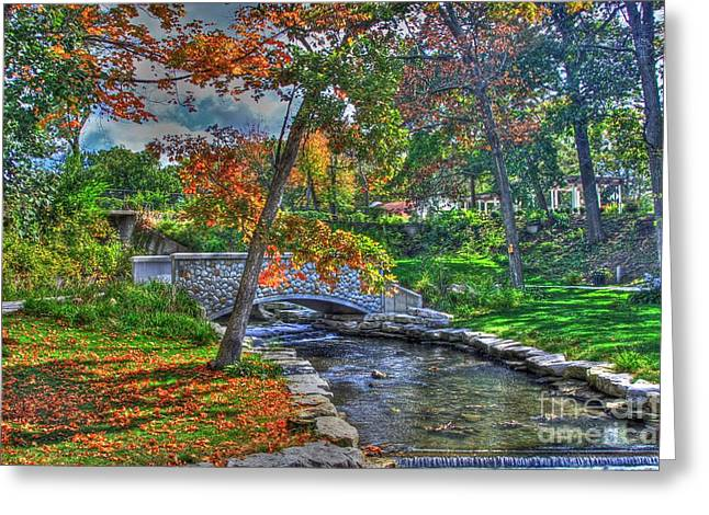 Signora Greeting Cards - My secret garden-Fall time Greeting Card by Robert Pearson