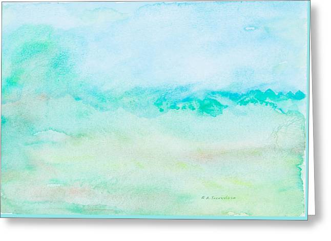 Ble Sky Greeting Cards - My Sky Greeting Card by Renata Tucunduva