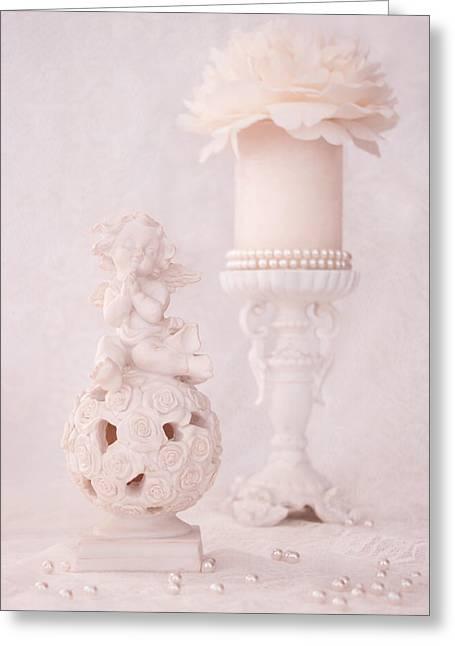 My Special Angel Greeting Card by Iryna Burkova