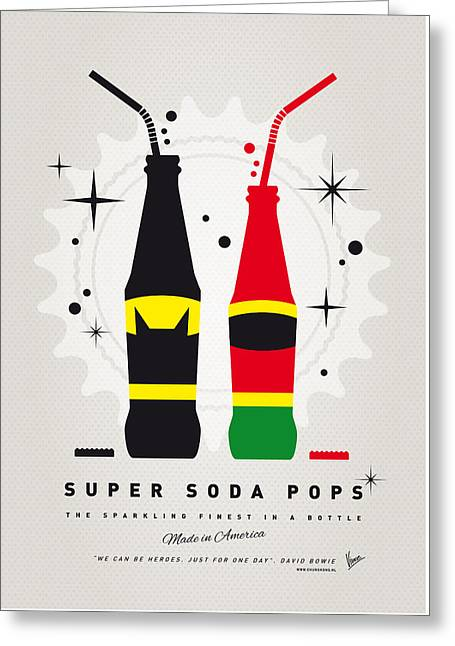 My Super Soda Pops No-01 Greeting Card by Chungkong Art