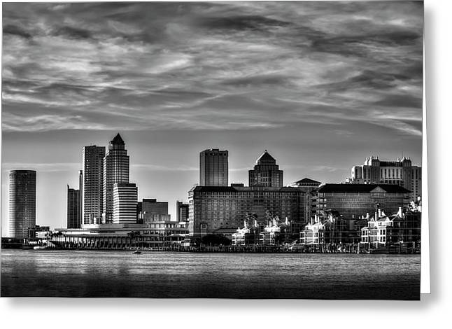 My Tampa Greeting Card by Marvin Spates