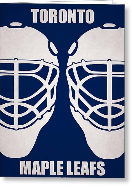 My Toronto Maple Leafs Greeting Card by Joe Hamilton