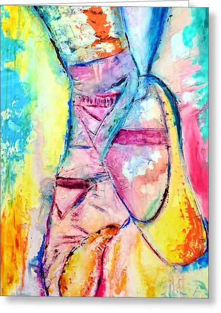 My Treasure Greeting Card by Ivan Guaderrama