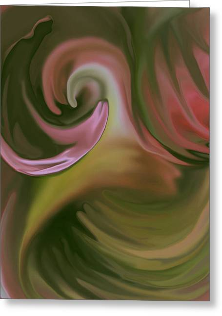 Sherri Painting Greeting Card featuring the digital art My Way by Sherri  Of Palm Springs