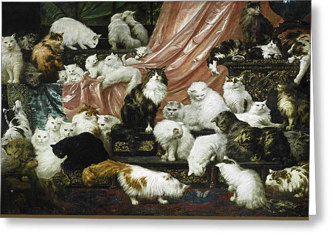 Wife Greeting Cards - My Wifes Lovers Greeting Card by Carl Kahler