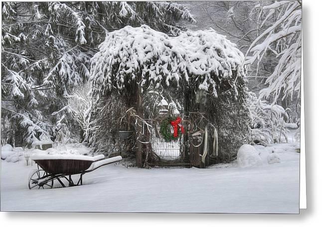 My Winter Garden 2 Greeting Card by Lori Deiter