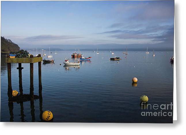 Mylor Weather Greeting Card by Terri Waters