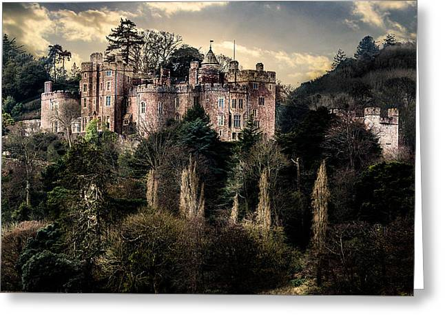 Chateau Greeting Cards - Mysterious castle Greeting Card by Tadeusz Korach