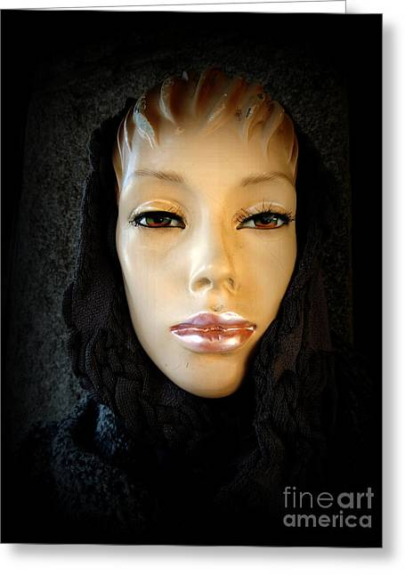 Print Photographs Greeting Cards - Mystery Mannequin  Greeting Card by Alexandra Lavizzari