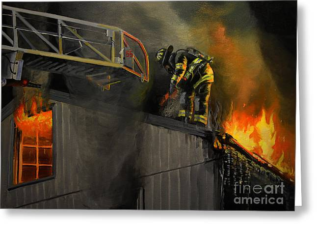 Truck Greeting Cards - Mystic Fire Greeting Card by Paul Walsh