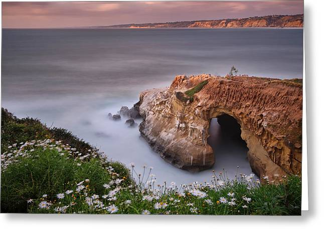 Long Exposure Greeting Cards - Mystical Cave Greeting Card by Larry Marshall