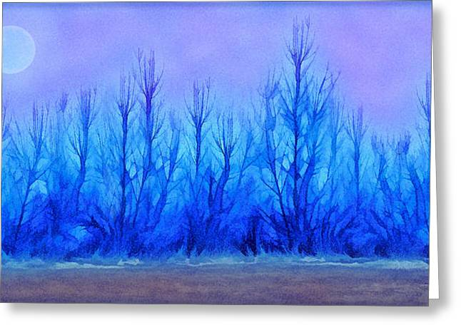 Mystical Landscape Greeting Cards - Mystical Forest Reveries Greeting Card by Joel Bruce Wallach