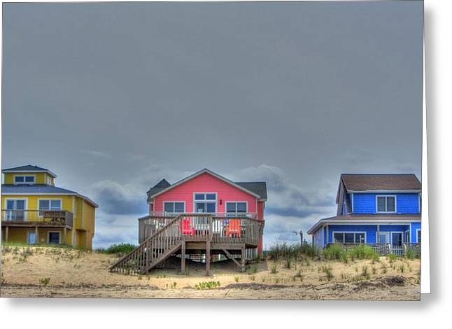 Brad Scott Greeting Cards - Nags Head Doll Houses Greeting Card by Brad Scott