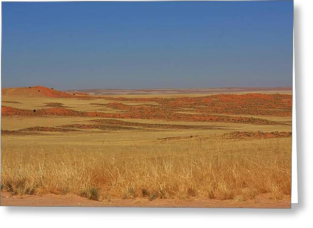 The Plateaus Greeting Cards - Namib Desert 2 Greeting Card by Stacie Gary