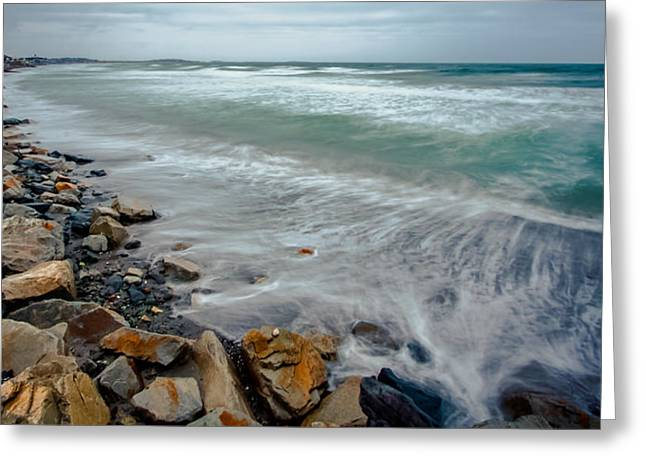 Hull Ma Greeting Cards - Nantasket Beach Greeting Card by Brian MacLean