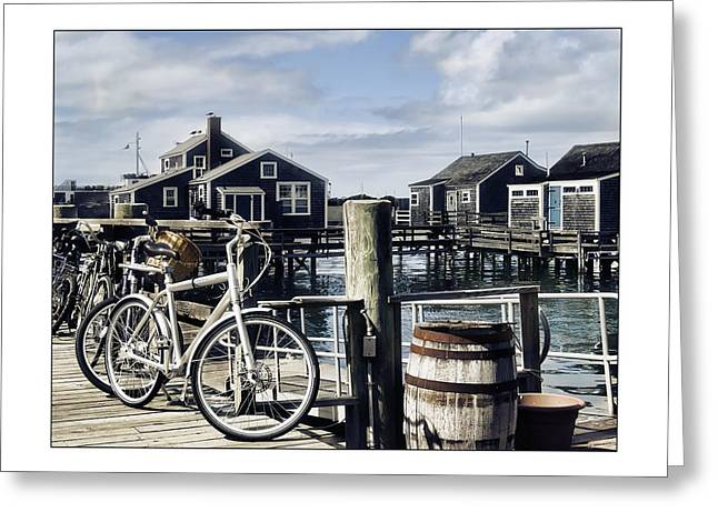 Shack Greeting Cards - Nantucket Bikes 1 Greeting Card by Tammy Wetzel