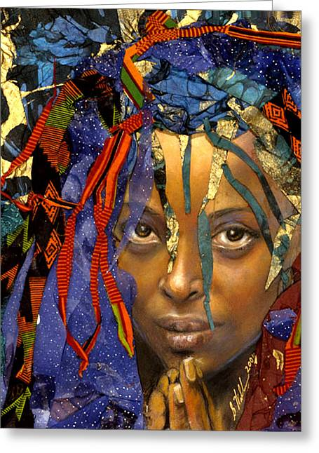 Naomi 3.1 Greeting Card by Gary Williams