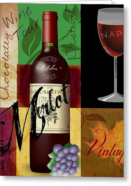 Zinfandel Greeting Cards - Napa Wine Festival  Greeting Card by Craig Williams