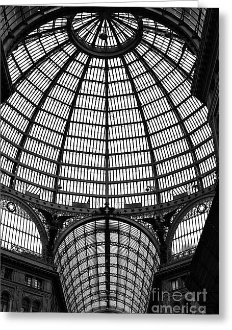 Recently Sold -  - ist Photographs Greeting Cards - Naples Galleria Greeting Card by John Rizzuto