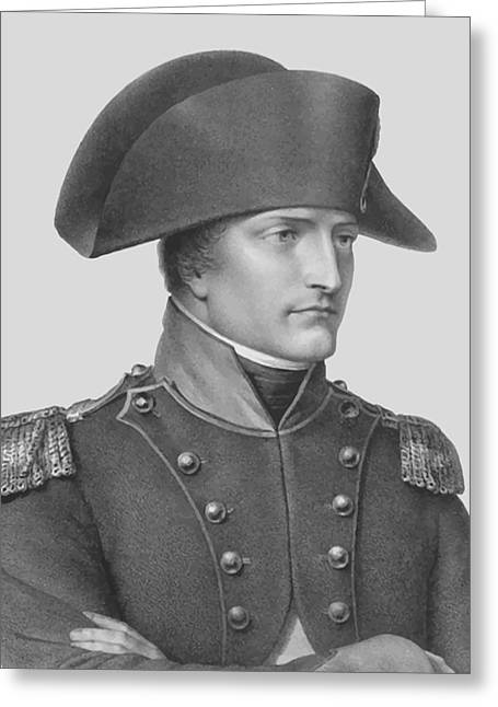 Napoleon Bonaparte In Uniform  Greeting Card by War Is Hell Store